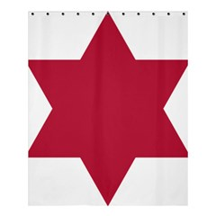 United States Army 6th Infantry Division Insignia Shower Curtain 60  X 72  (medium)