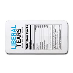 Liberal Tears  Funny With Supplement Facts Custom Colors Medium Bar Mat
