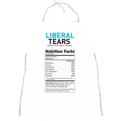 Liberal Tears  Funny With Supplement Facts Custom Colors Full Print Apron by snek