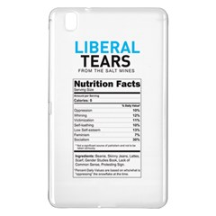 Liberal Tears  Funny With Supplement Facts Custom Colors Samsung Galaxy Tab Pro 8 4 Hardshell Case