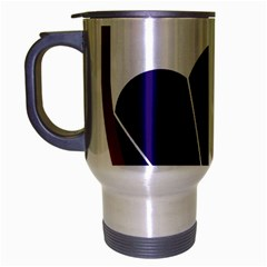 United States Army 6th Airborne Division Insignia Travel Mug (silver Gray)