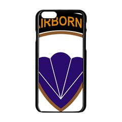 United States Army 6th Airborne Division Insignia Apple Iphone 6/6s Black Enamel Case
