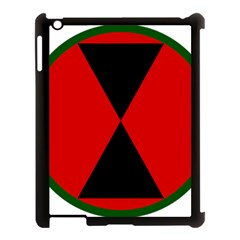 United States Army 7th Infantry Division Insignia Apple Ipad 3/4 Case (black)