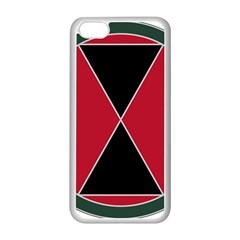 United States Army 7th Infantry Division Combat Service Identification Badge Apple Iphone 5c Seamless Case (white)
