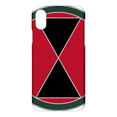 United States Army 7th Infantry Division Combat Service Identification Badge Apple Iphone X Hardshell Case