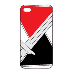 United States Army 7th Infantry Division Distinctive Unite Insignia Apple Iphone 4/4s Seamless Case (black)