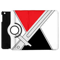 United States Army 7th Infantry Division Distinctive Unite Insignia Apple Ipad Mini Flip 360 Case by abbeyz71