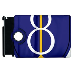 United States Army 8th Infantry Division Shoulder Sleeve Insignia Apple Ipad 3/4 Flip 360 Case