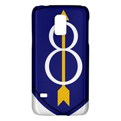 United States Army 8th Infantry Division Shoulder Sleeve Insignia Samsung Galaxy S5 Mini Hardshell Case  by abbeyz71