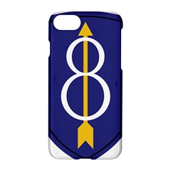 United States Army 8th Infantry Division Shoulder Sleeve Insignia Apple Iphone 7 Hardshell Case