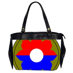 United States Army 9th Infantry Division Shoulder Sleeve Insignia Oversize Office Handbag (2 Sides) by abbeyz71