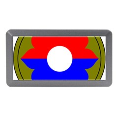 United States Army 9th Infantry Division Shoulder Sleeve Insignia Memory Card Reader (mini)