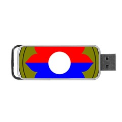 United States Army 9th Infantry Division Shoulder Sleeve Insignia Portable Usb Flash (two Sides)