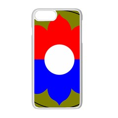 United States Army 9th Infantry Division Shoulder Sleeve Insignia Apple Iphone 8 Plus Seamless Case (white)