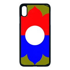 United States Army 9th Infantry Division Shoulder Sleeve Insignia Apple Iphone Xs Max Seamless Case (black)