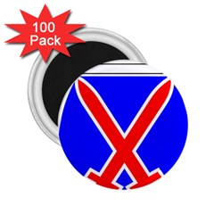United States Army 10th Mountain Division Shoulder Sleeve Insignia 2 25  Magnets (100 Pack)