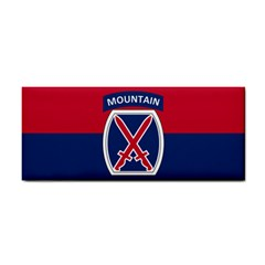Flag Of United States Army 10th Mountain Division Hand Towel