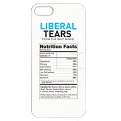 Liberal Tears Funny With Supplement Facts Custom Colors Apple Iphone 5 Hardshell Case With Stand by snek