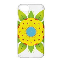 Abstract Flower Apple Iphone 8 Hardshell Case
