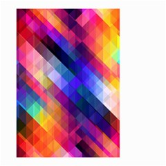 Abstract Background Colorful Small Garden Flag (two Sides)