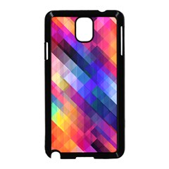 Abstract Background Colorful Samsung Galaxy Note 3 Neo Hardshell Case (black)
