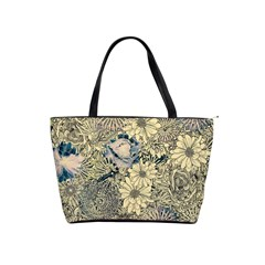 Abstract Art Botanical Classic Shoulder Handbag by Alisyart