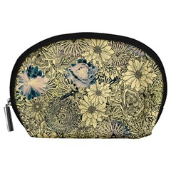 Abstract Art Botanical Accessory Pouch (large) by Alisyart