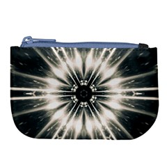 Abstract Fractal Space Large Coin Purse