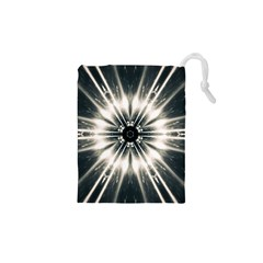 Abstract Fractal Space Drawstring Pouch (xs)