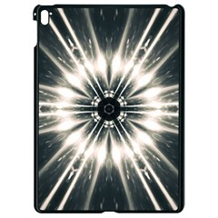 Abstract Fractal Space Apple Ipad Pro 9 7   Black Seamless Case