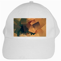 Background Triangle White Cap by Alisyart