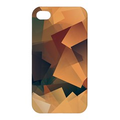 Background Triangle Apple Iphone 4/4s Premium Hardshell Case
