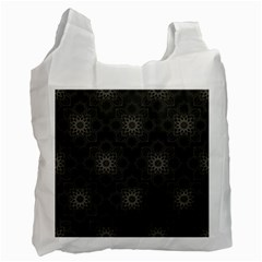 Background Star Pattern Recycle Bag (two Side) by Alisyart