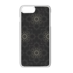 Background Star Pattern Apple Iphone 8 Plus Seamless Case (white)