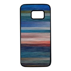 Background Horizontal Ines Samsung Galaxy S7 Black Seamless Case by Alisyart