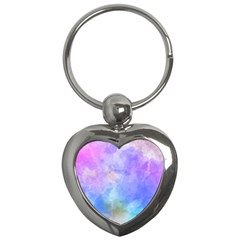 Background Abstract Purple Watercolor Key Chains (heart)