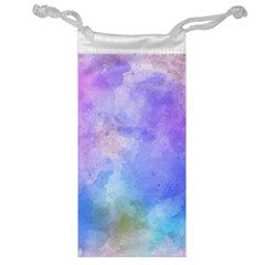 Background Abstract Purple Watercolor Jewelry Bag by Alisyart