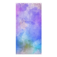 Background Abstract Purple Watercolor Shower Curtain 36  X 72  (stall)