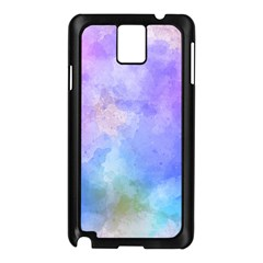 Background Abstract Purple Watercolor Samsung Galaxy Note 3 N9005 Case (black) by Alisyart
