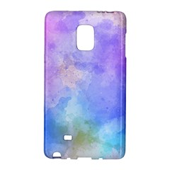 Background Abstract Purple Watercolor Samsung Galaxy Note Edge Hardshell Case
