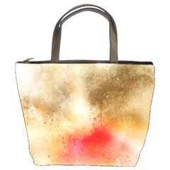Abstract Space Watercolor Bucket Bag by Alisyart