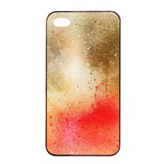 Abstract Space Watercolor Apple Iphone 4/4s Seamless Case (black)
