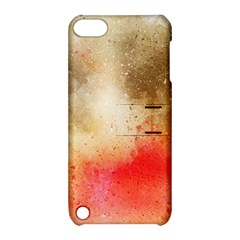 Abstract Space Watercolor Apple Ipod Touch 5 Hardshell Case With Stand