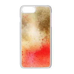 Abstract Space Watercolor Apple Iphone 8 Plus Seamless Case (white)