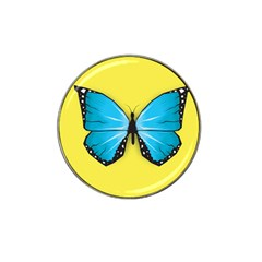 Butterfly Blue Insect Hat Clip Ball Marker (10 Pack)