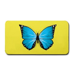 Butterfly Blue Insect Medium Bar Mats
