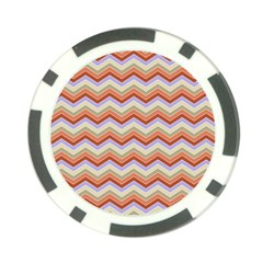 Chevron Pattern Poker Chip Card Guard (10 Pack)
