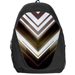 Chevron Triangle Backpack Bag