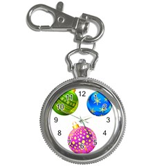 Christmas Ornaments Ball Key Chain Watches