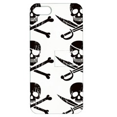 Bone Skull Apple Iphone 5 Hardshell Case With Stand